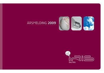 Illustrerer forsiden av 2009 årsmeldingen