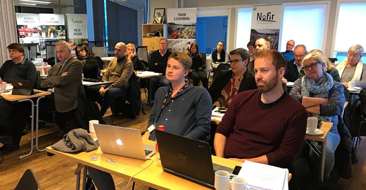 Representantskapet samlet på Vikan 11. november 2016.