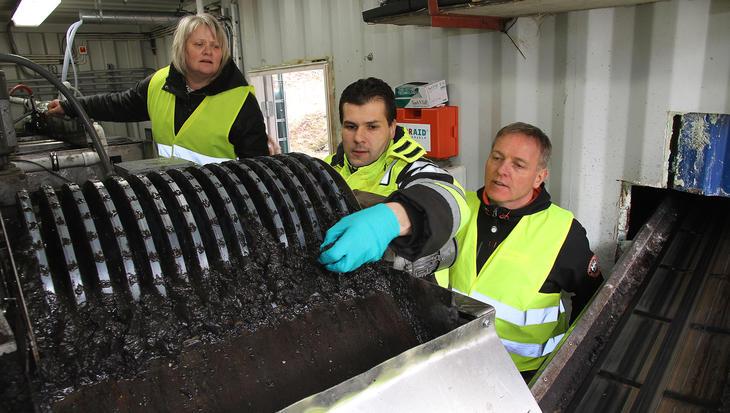 Renseanlegget på Vikan samler opp tungmetaller og andre farlige stoffer fra sigevannet.