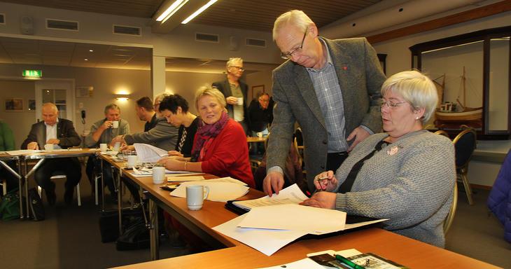 Fra representantskapsmøte i Iris Salten i november 2014.